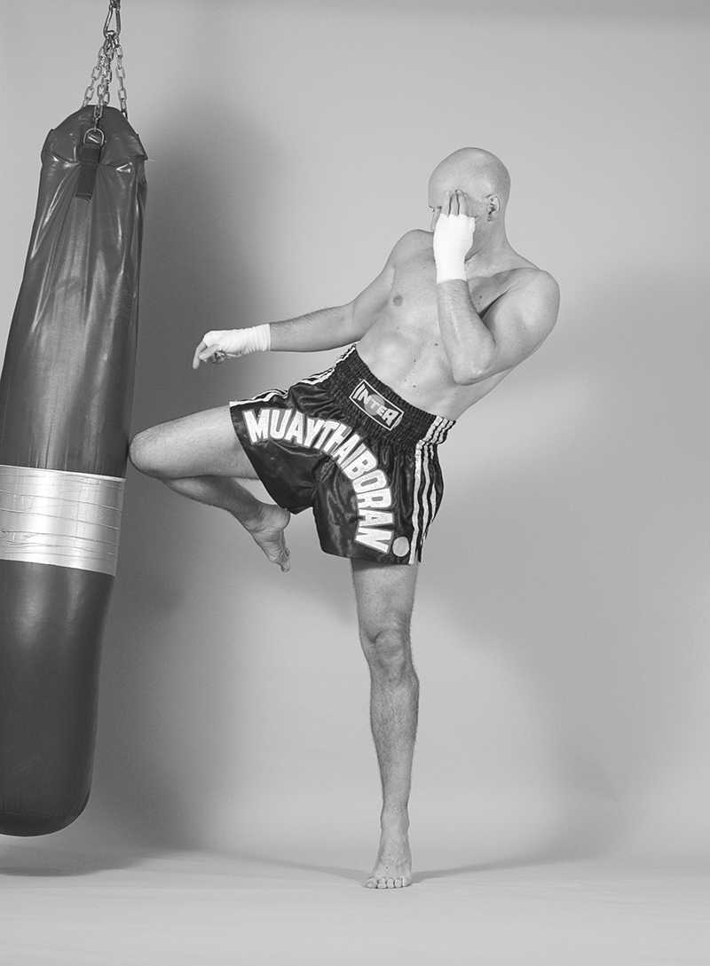 kao chieng Heavy Bag training for Muay Thai