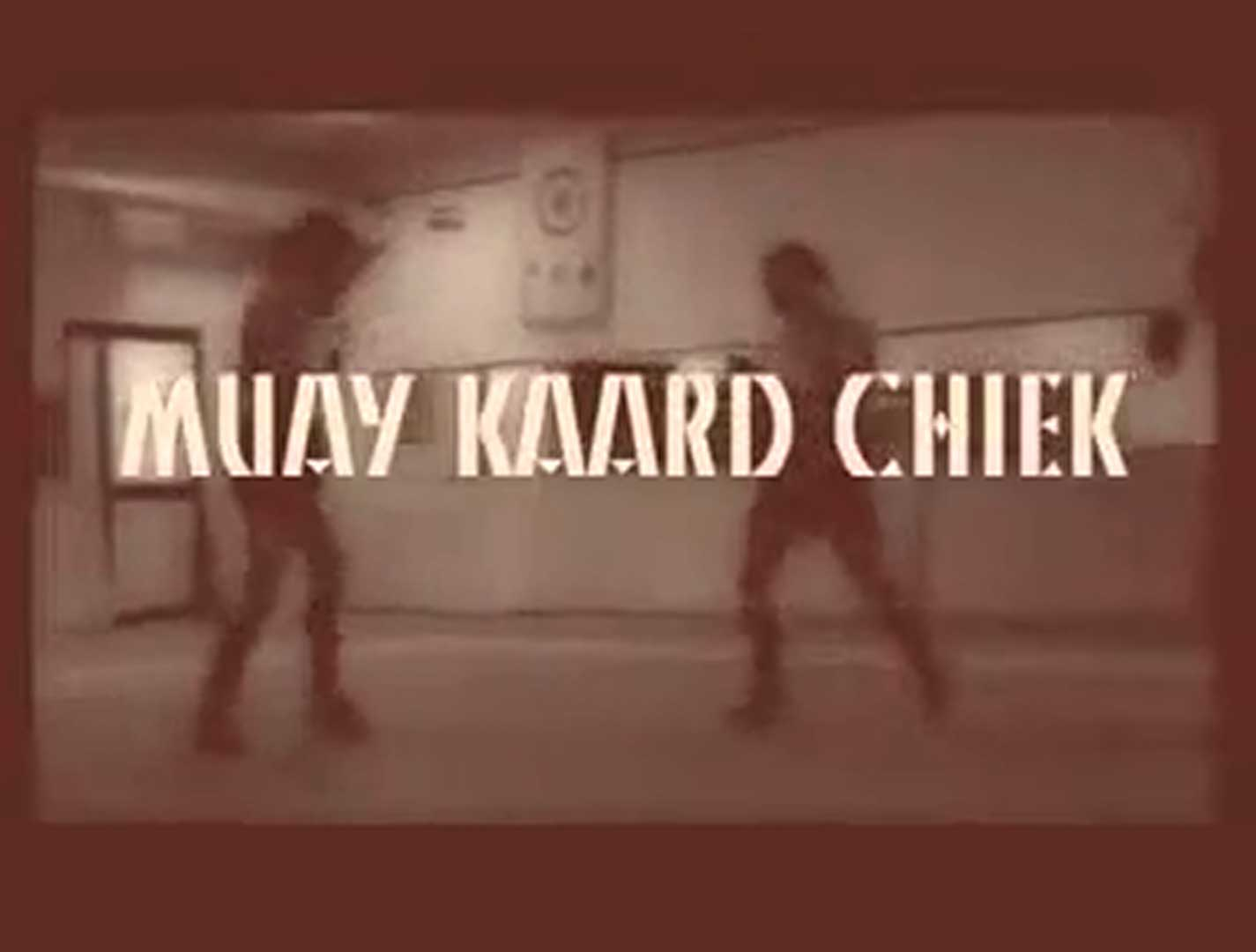 IMBA Muay Kard Chiek Video