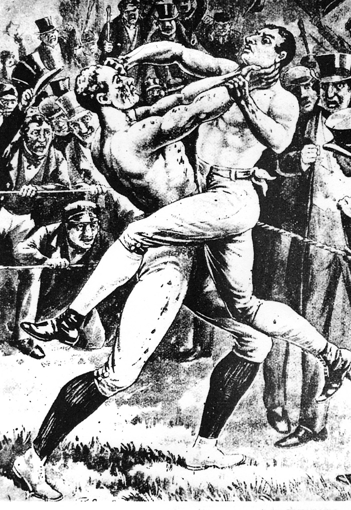 Bare knuckle Fighting – training neck arms legs