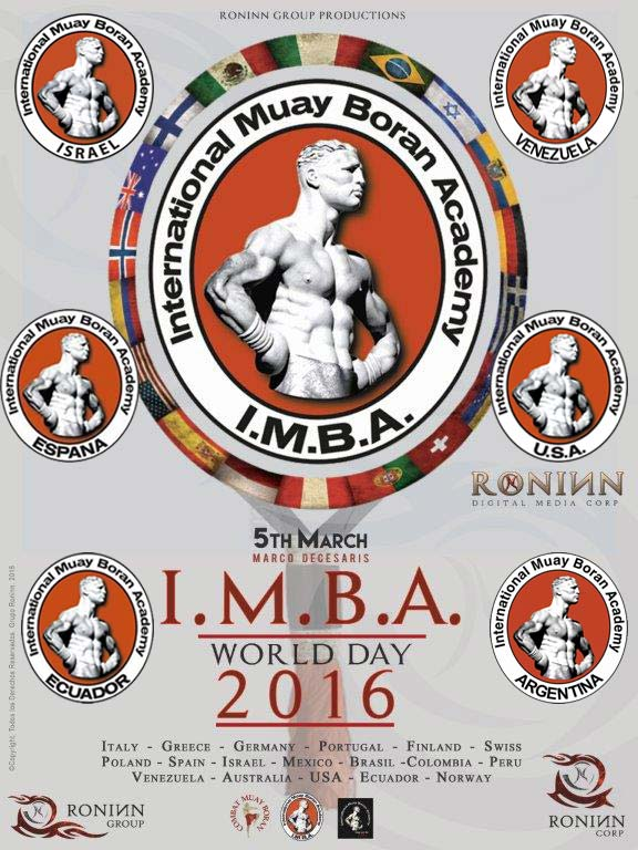 IMBA WORLD gruppo ultimo 5 March 2016, second edition of IMBA World Day!