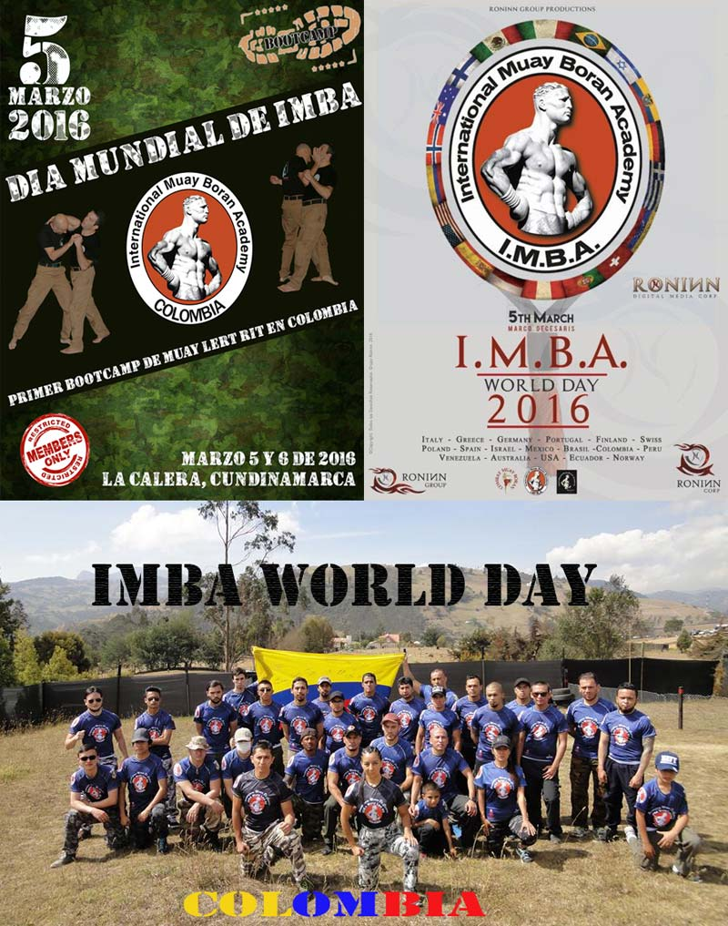 gruppo colombia 5 March 2016, second edition of IMBA World Day!
