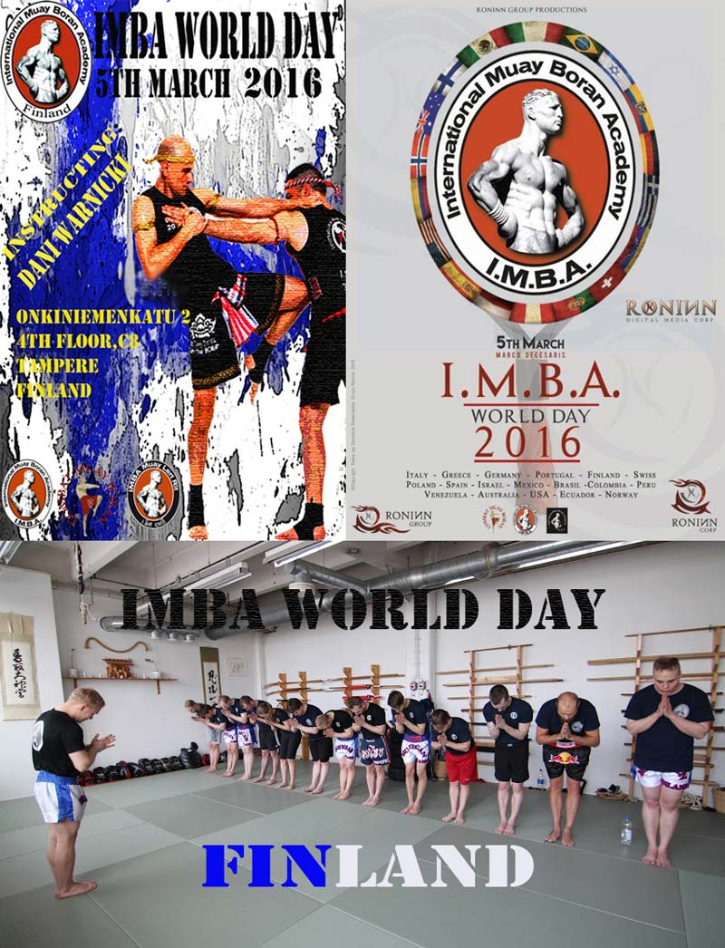 gruppo finland 5 March 2016, second edition of IMBA World Day!