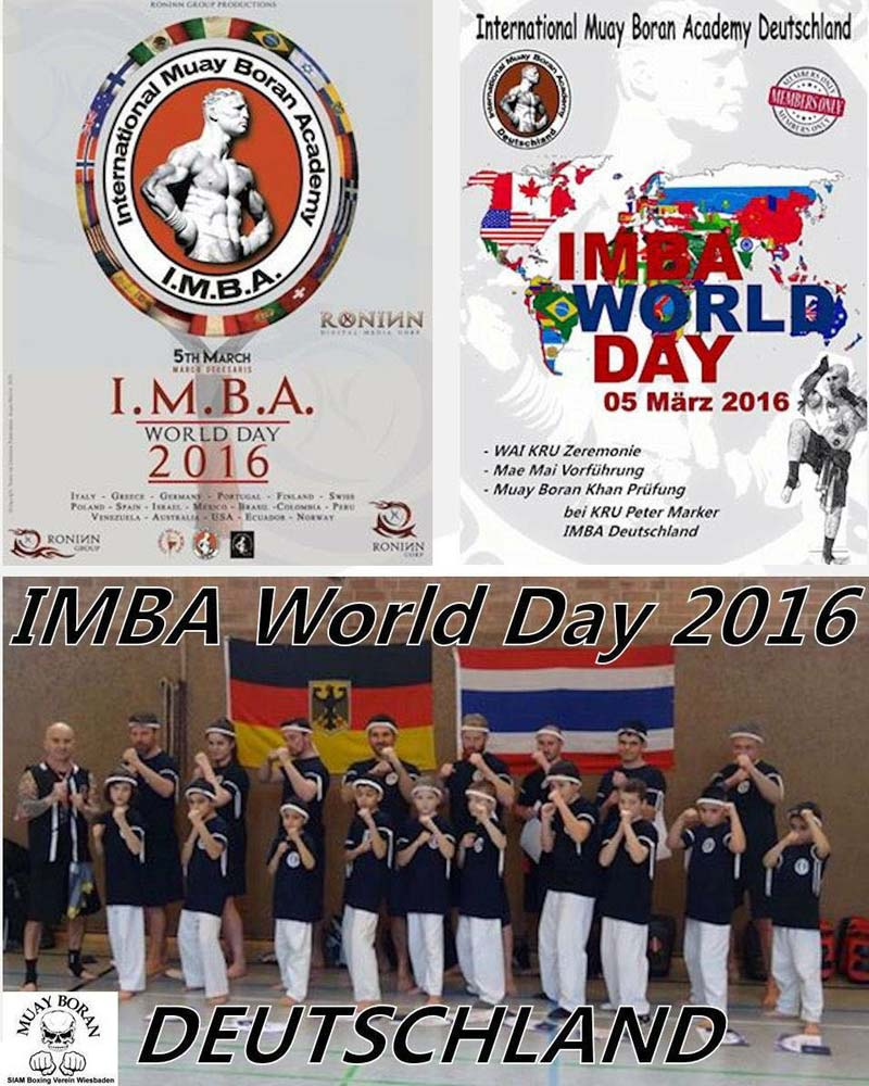 gruppo germania 5 March 2016, second edition of IMBA World Day!