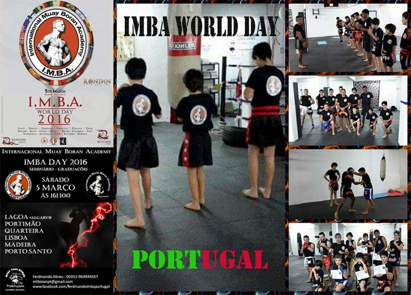 gruppo portogallo 5 March 2016, second edition of IMBA World Day!