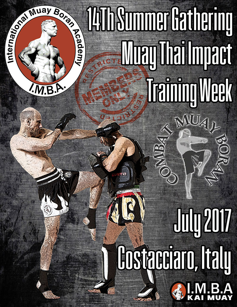 Muay Thai Impact Training Week Lesperienza IMBA