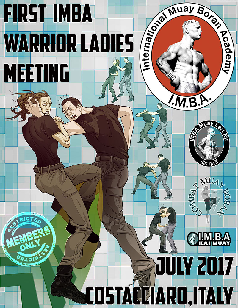 Poster Warrior Ladies Meeting Lesperienza IMBA