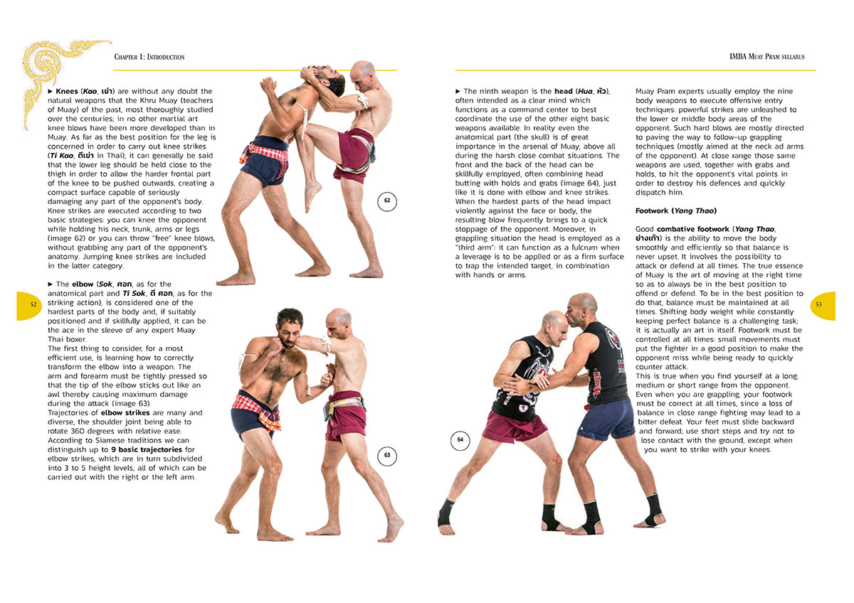 The Art of Thai Grappling 2 Pagina 2 IMBA Muay Pram<br/>The Art of Thai grappling<br/>by Marco De Cesaris