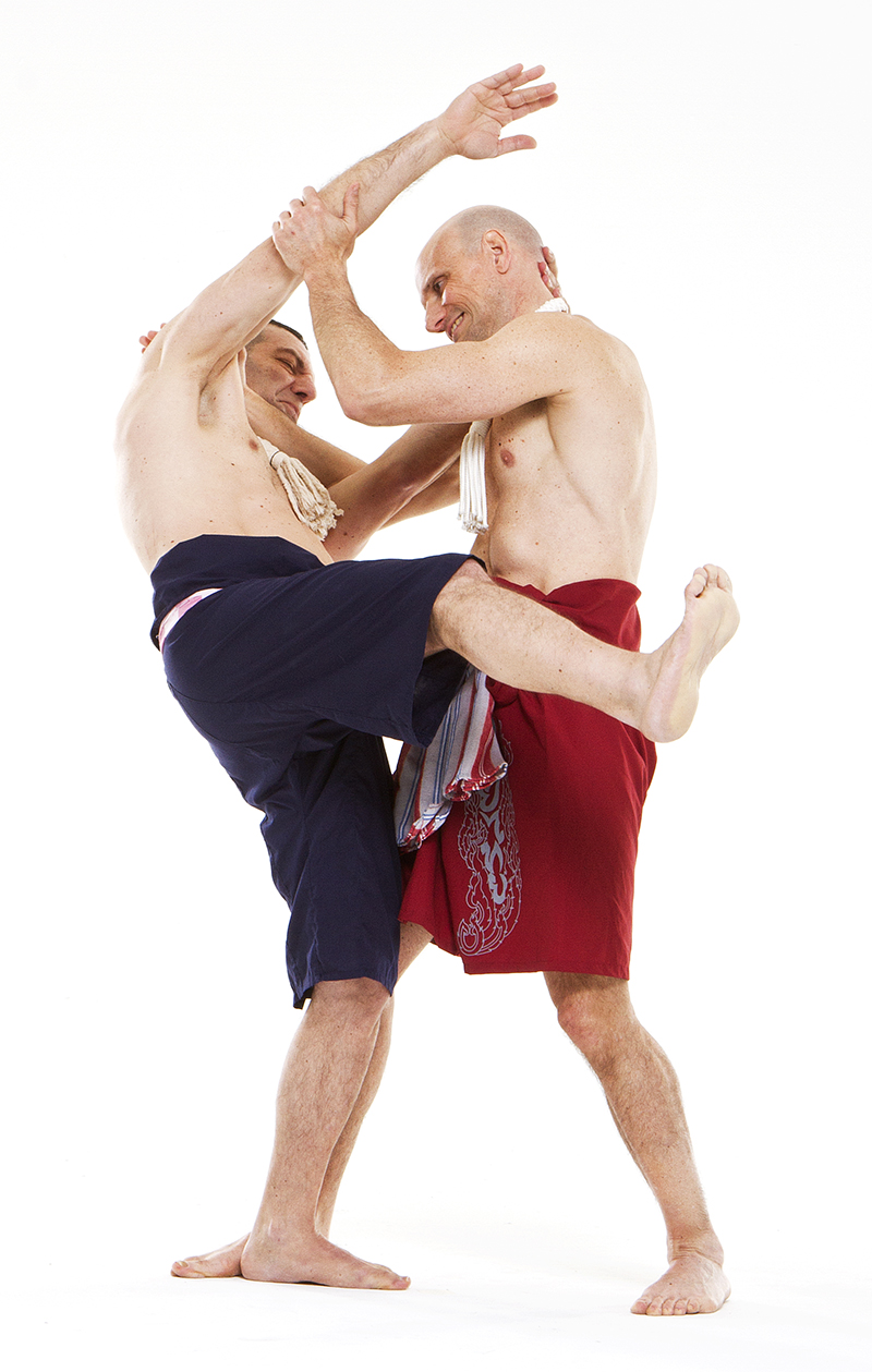 4.combat form The deep meaning of  Combat Muay Boran Form