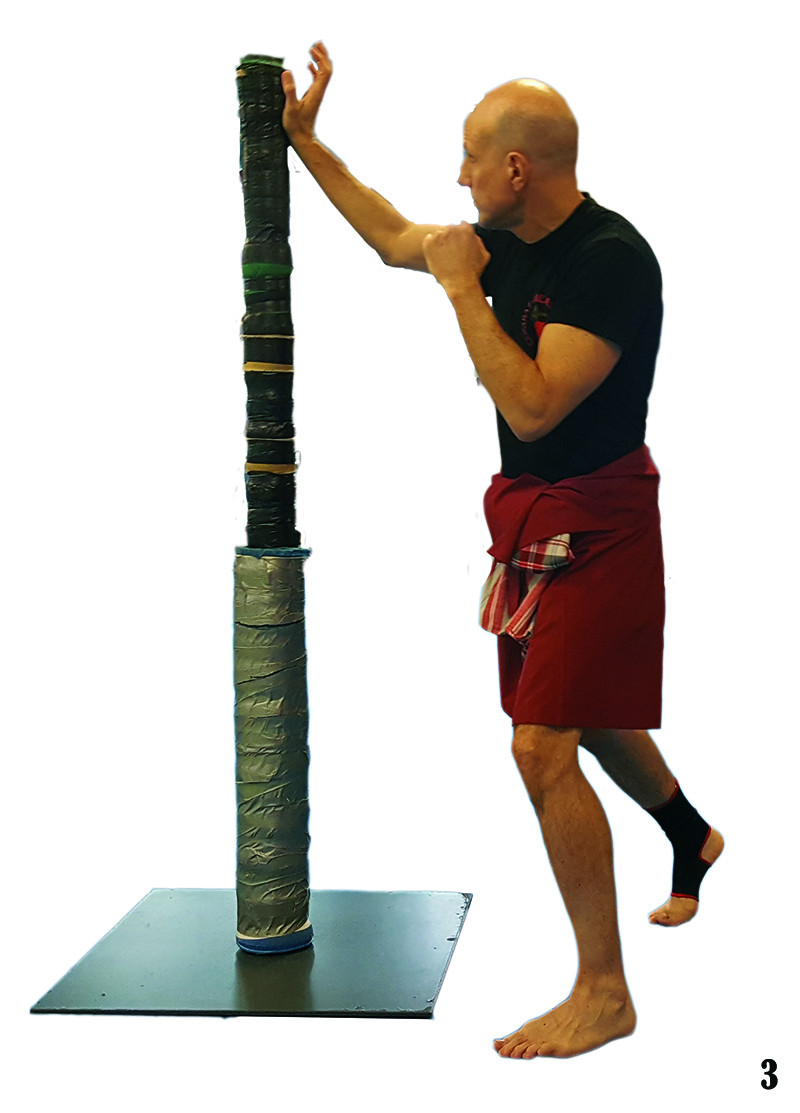 3. Training 1. Iron post Heel of the hand Blow Las crónicas del Lert Rit (capítulo 3)