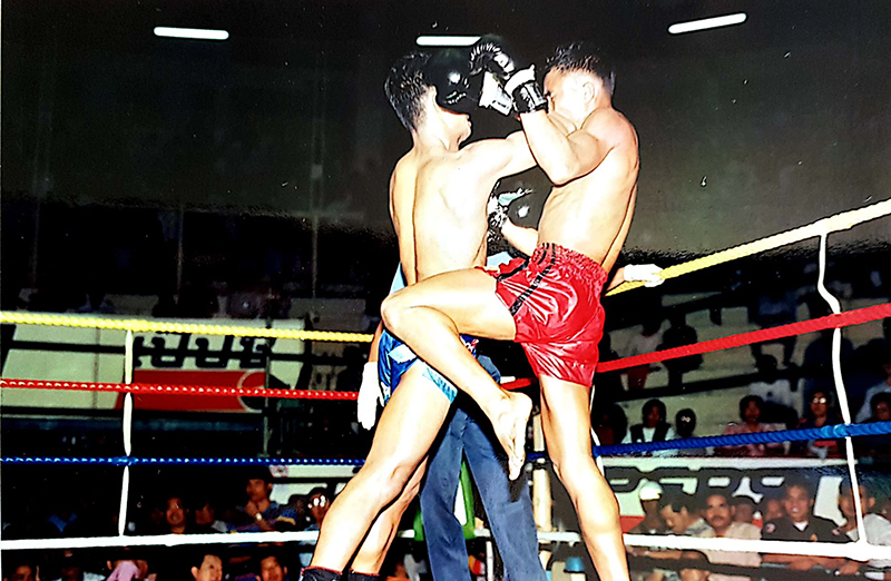 sok gnad Learning original Muay Thai: the power of team work.     Chapter 1